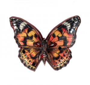 polymer clay butterfly made by Patty Barnes