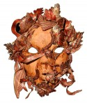 Autumn Leaf mask by Rebecca Wells Stout